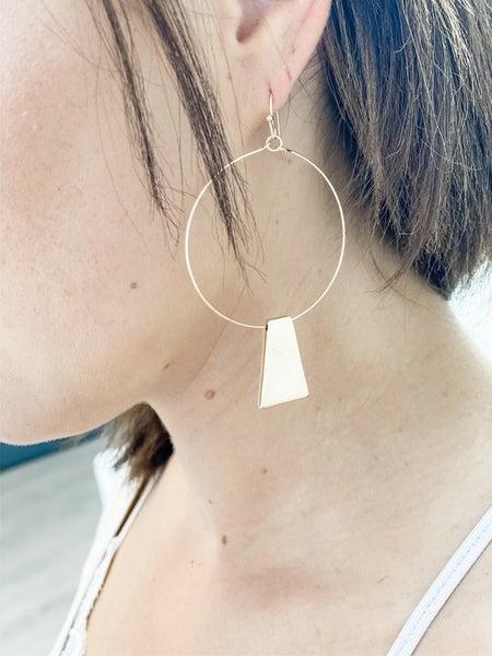 Walk Like an Egyptian Earring