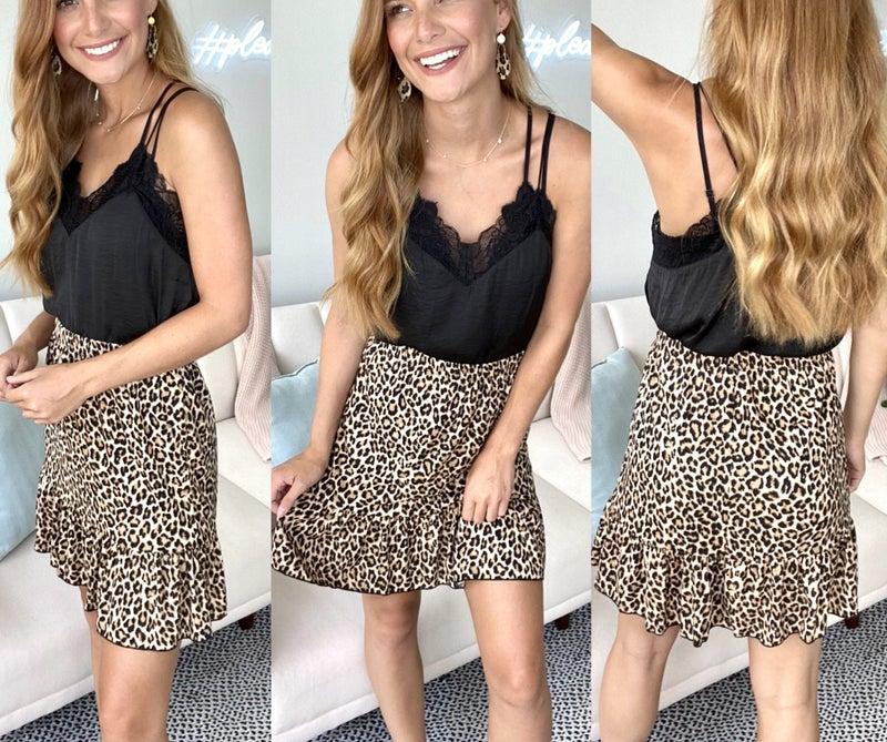 On the Cat Walk Skirt