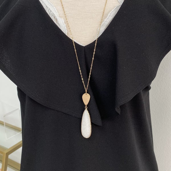 Midnight Tears Necklace