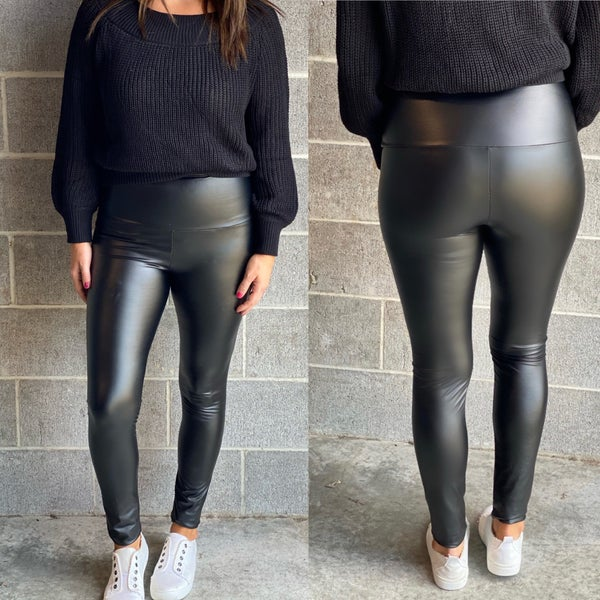 Favorite Faux Leather Leggings