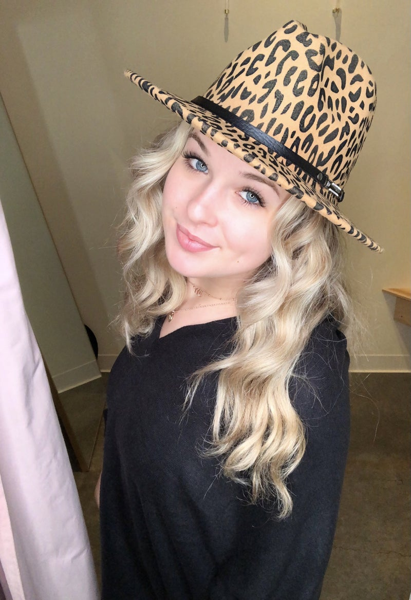 Cheetah hat