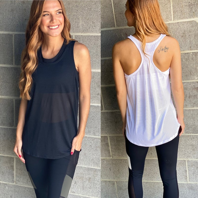 Move To The Beat Athletic Tank