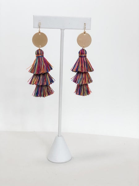 Fringe Party Earring