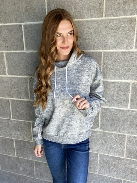 Cowl Neck Pullover | 2 Colors