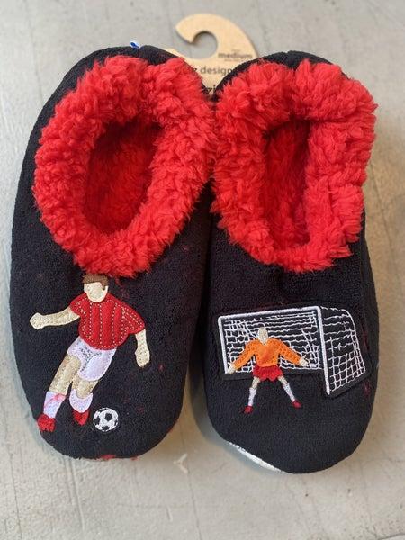 Men's Soccer Slippers