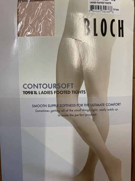 Bloch Contoursoft Adult Pink Footed
