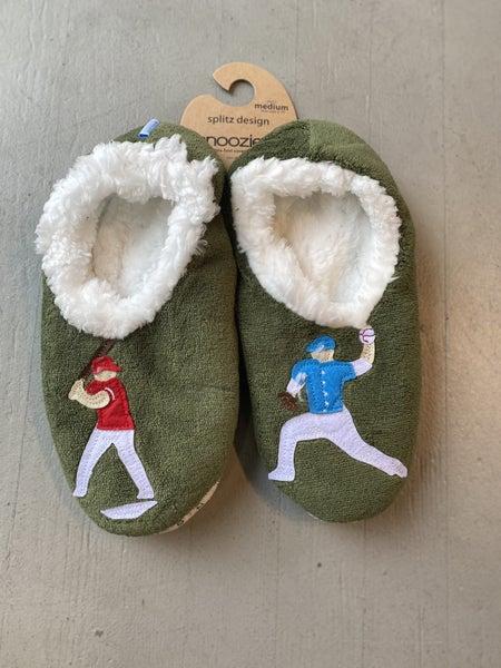 Men's  Baseball Slippers