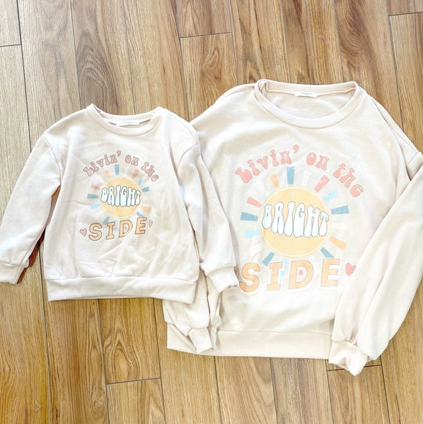 Bright Side Pull Over - Mom and Mini