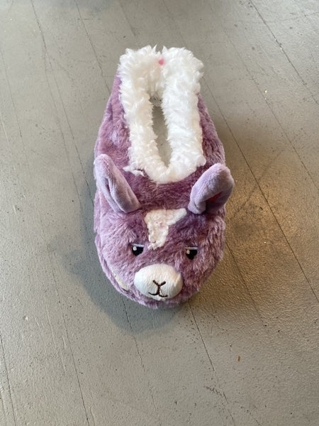 Girls Llama Slippers