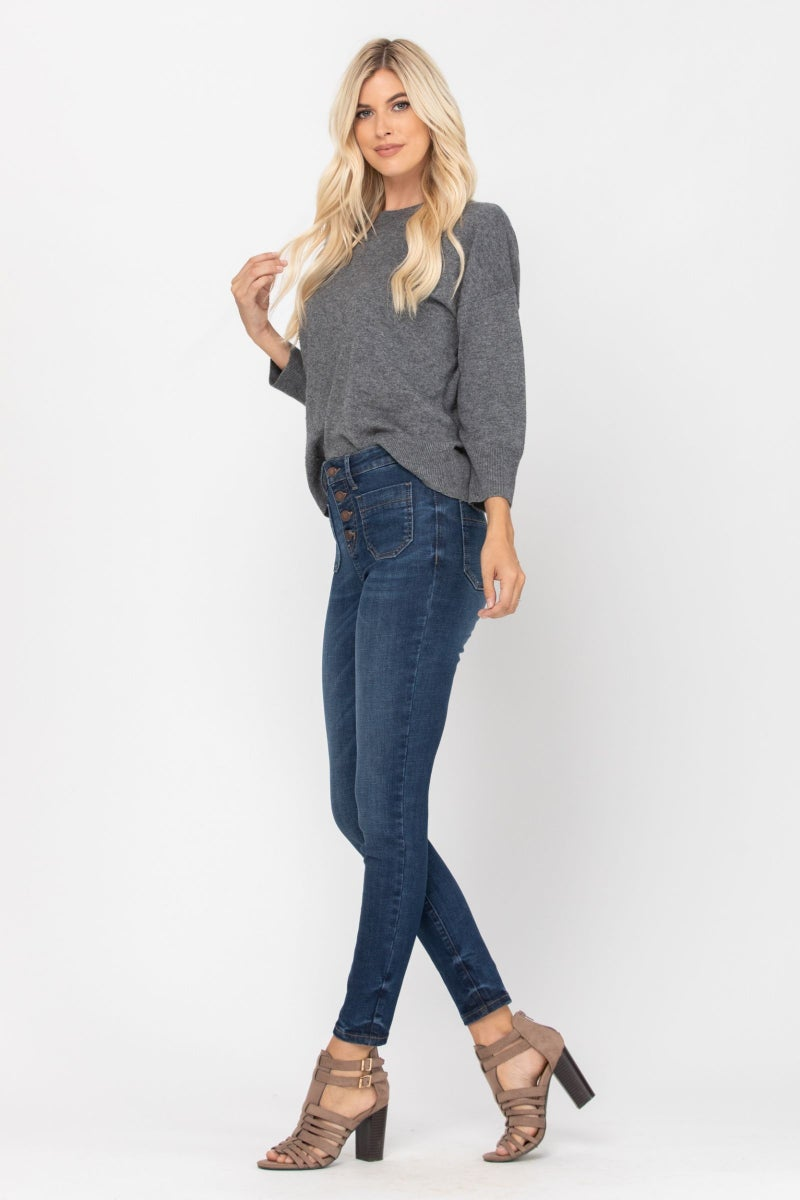 Button Fly Skinny