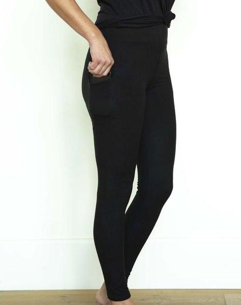Pocket Leggings - Black