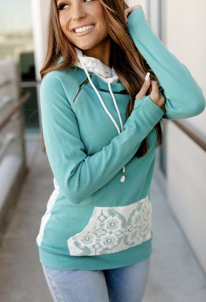 Turquoise & Lace