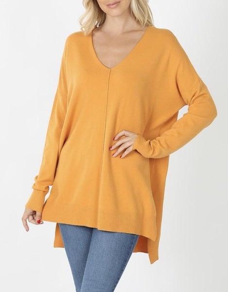 Mustard Comfy Sweater