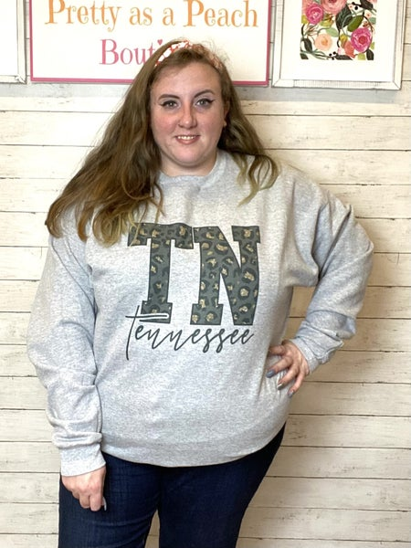 TN Animal Print Sweatshirt