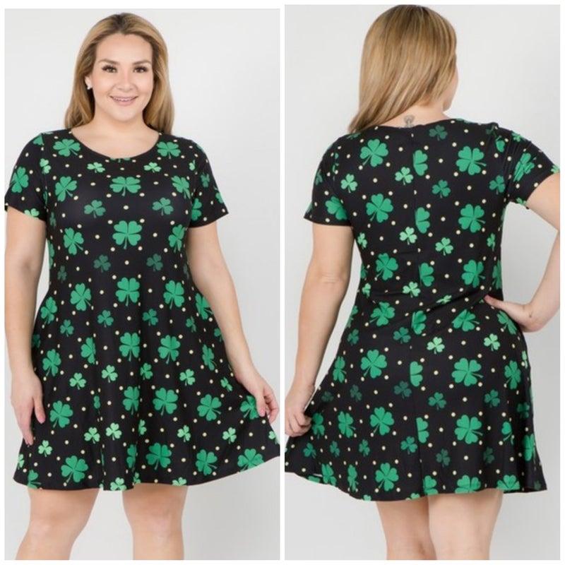 FINAL SALE Luck of the Irish Dress
