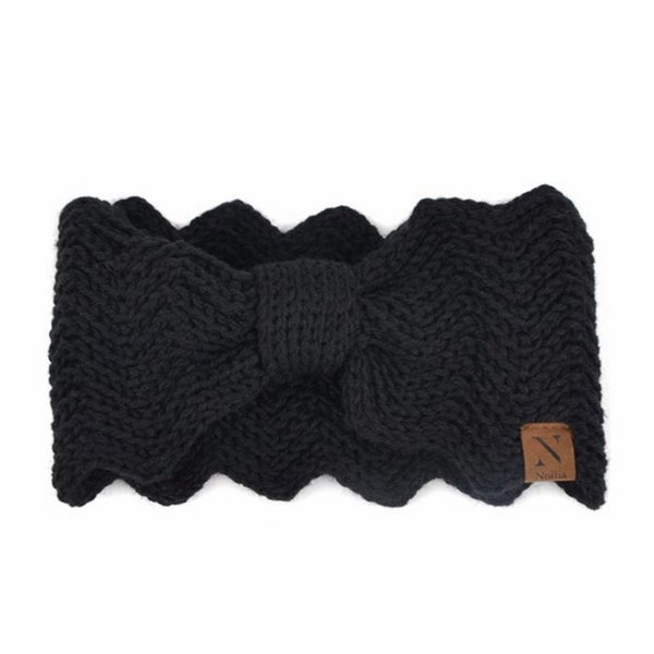 Adorable Black Head Wrap
