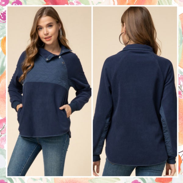 DEAL OF THE DAY Navy Pullover