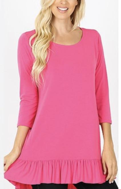Deal of the Day Ruffle Tunic