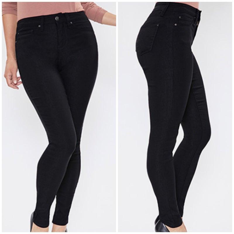Black Hyperstretch Skinny Jeans