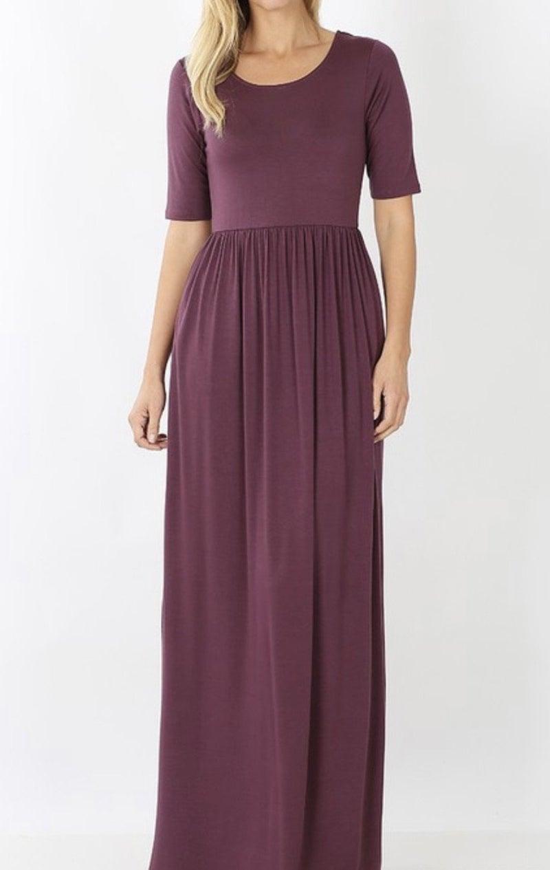 Adorable Pocket Maxi Dress