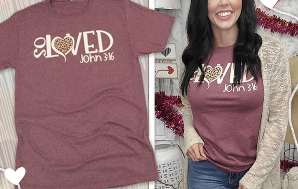 So Loved John 3:16 Tee