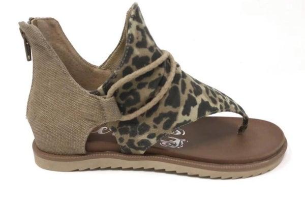 Animal Print Sandals