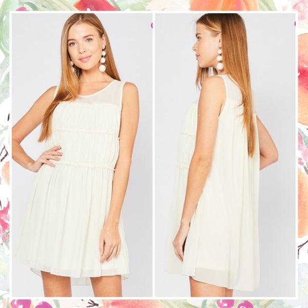 FINAL SALE Beautiful Ivory Dress