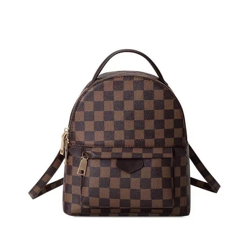 Lacey Check Mini Backpack