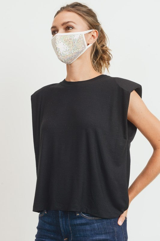 Mini Sparkle Lightweight Breathable Facemask