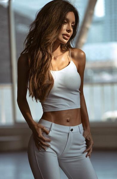 Skinny Strap Cropped Cami Bralette