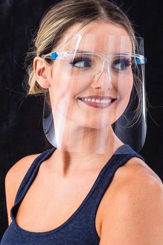 Clear Goggle Anti-Fog Face Shields *Final Sale*
