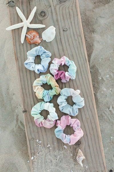 Surprise Beach Tie Dye Scrunchie