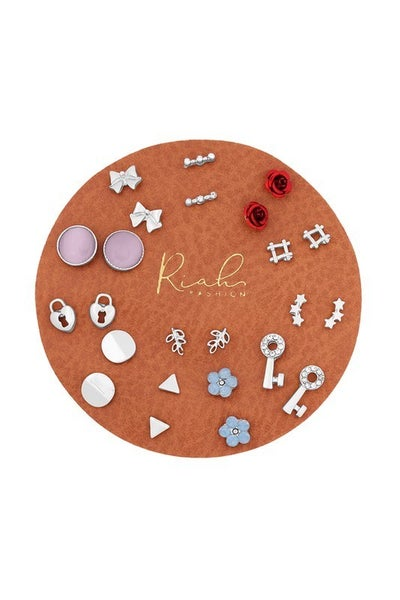 Dainty Stud Earring Set of 12