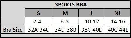 Black Active Lattice open Back Sports Bra