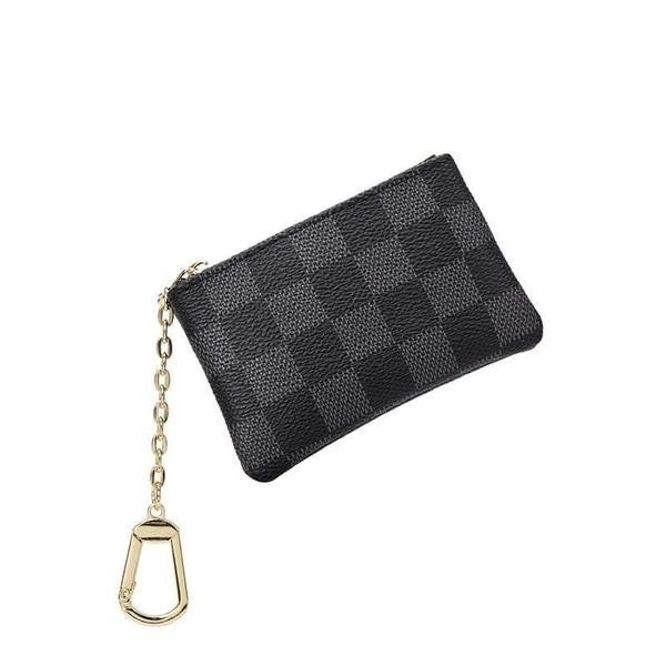 The Lacey Check Key Pouch