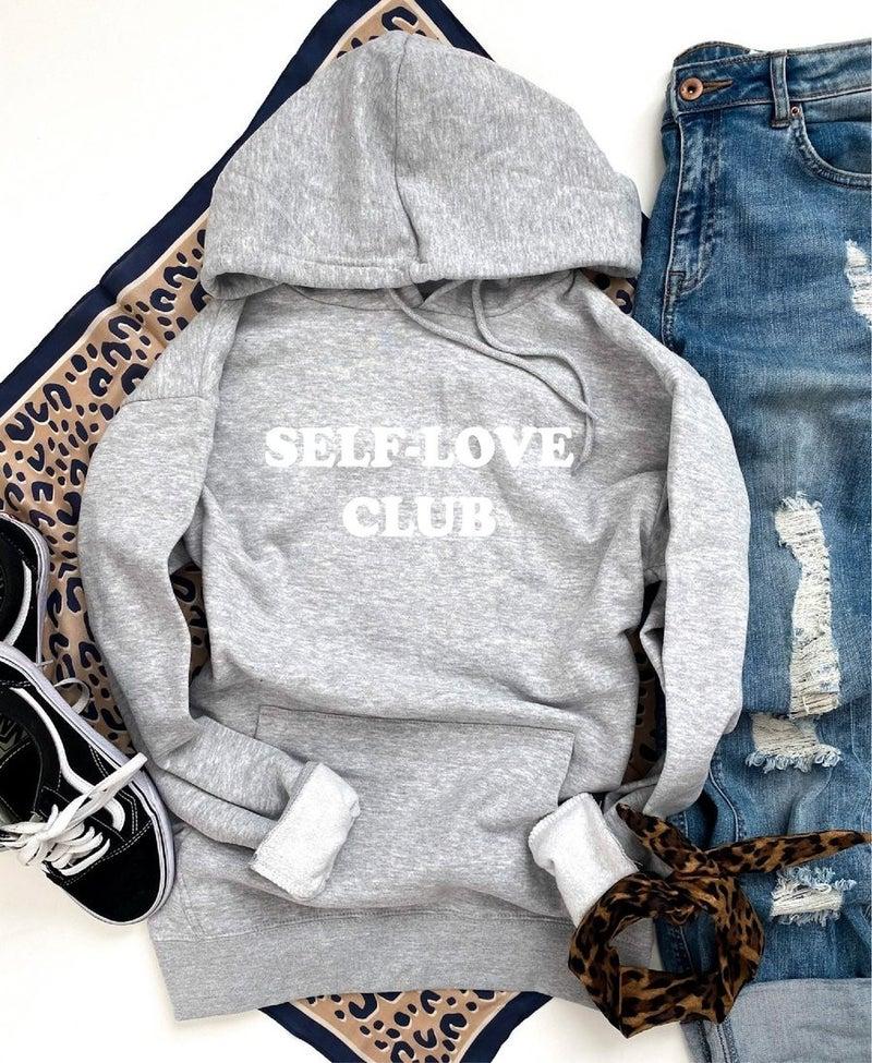 SELF-LOVE CLUB Fleece Hoodie