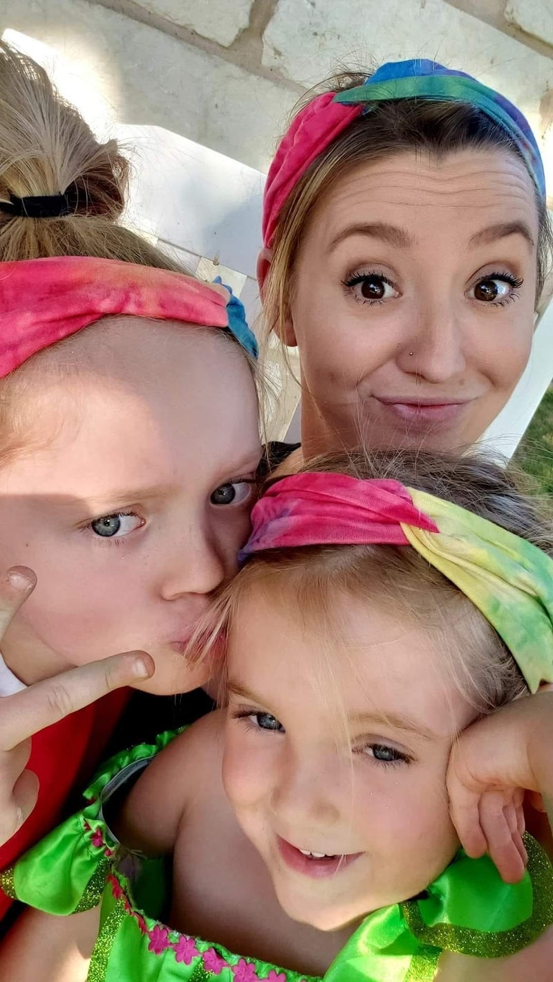 Surprise Tie Dye Headbands