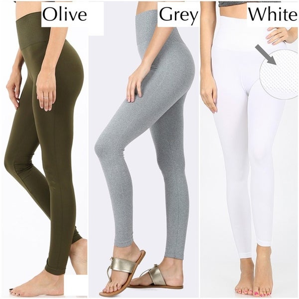 High Waist Diamond Shape Tummy Control Seamless Leggings