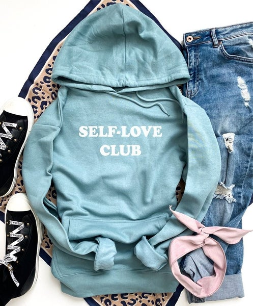 SELF-LOVE CLUB Fleece Hoodie