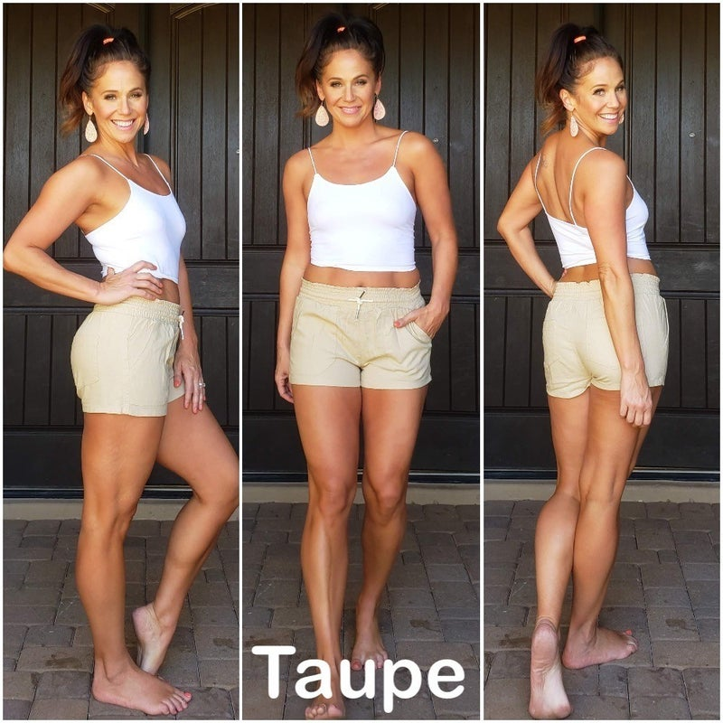 Rope Drawstring Linen Shorts *Final Sale*