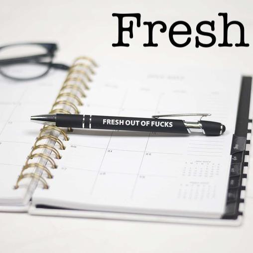 Sassy Stylus Tip Pens