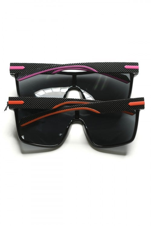 SURPRISE Thick Square Frame Sunglasses *Final Sale*