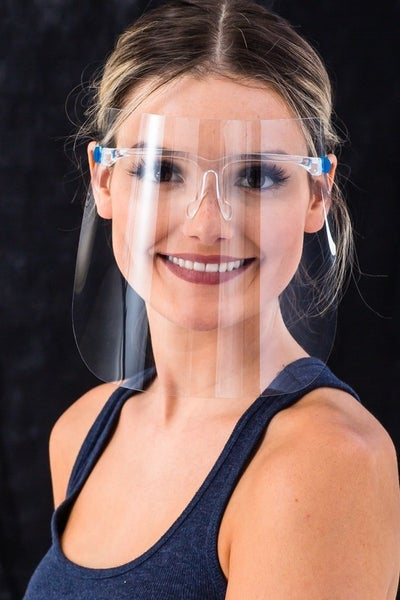 Clear Goggle Anti-Fog Face Shields *Final Sale*