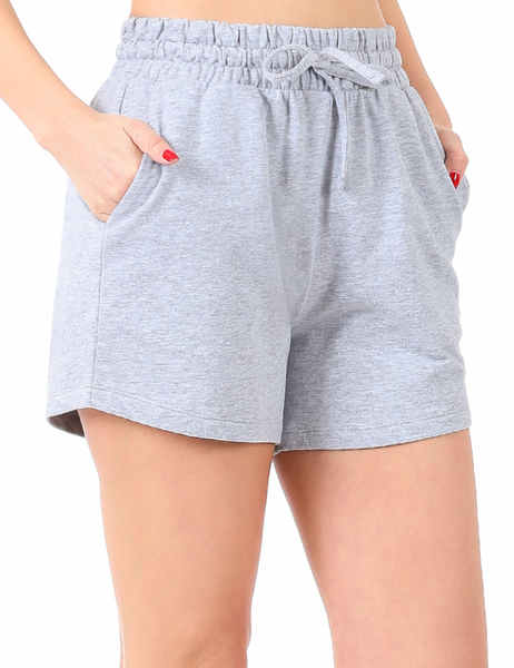 Go Anywhere With You Shorts - Grey