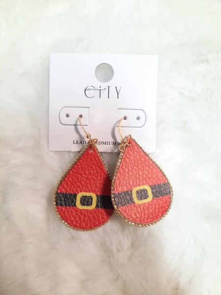 Santa Dangle Earrings