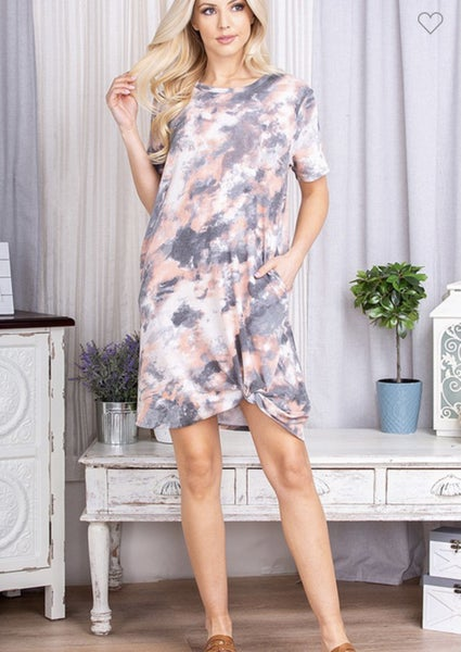 Thinking of You Tie Dye Dress