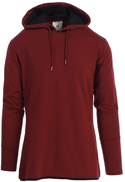 Men's Stretch Hooded Top