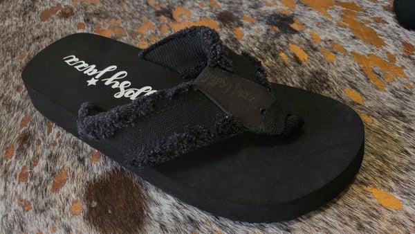 Gypsy Jazz Sandals - Black