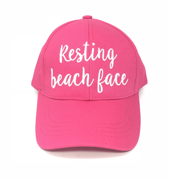 CC Resting Beach Face Cap