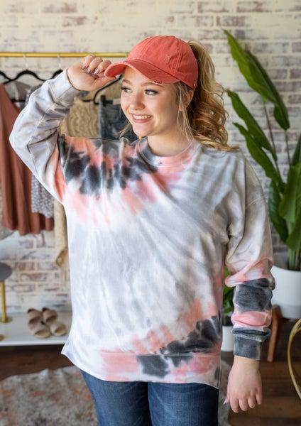 In My Dreams Tie Dye Pullover
